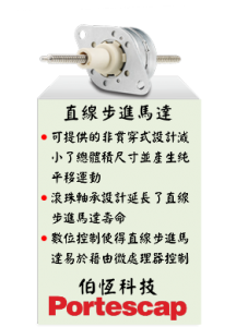 Portescap Linear Stepper Motor 直線步進馬達